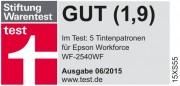 Качество совместимых струйных картриджей Ninestar Image Tech Limited сопоставимо с качеством оригинальной продукции Stiftung Warentest (Test.de)
