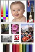 Тест 2% заполнение при печати цветных изображений
