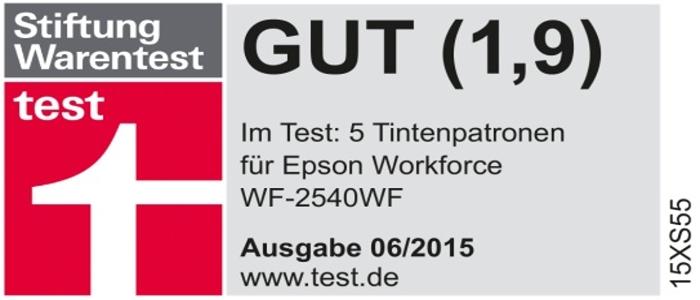 Качество совместимых струйных картриджей Ninestar Image Tech Limited сопоставимо с качеством оригинальной продукции Stiftung Warentest (Test.de).